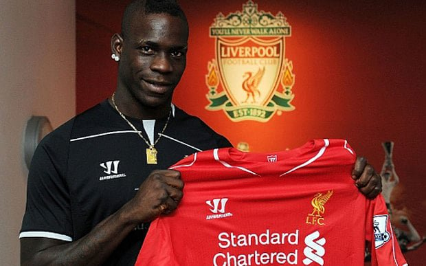 Happy 27th Birthday To Former Red Mario Balotelli .