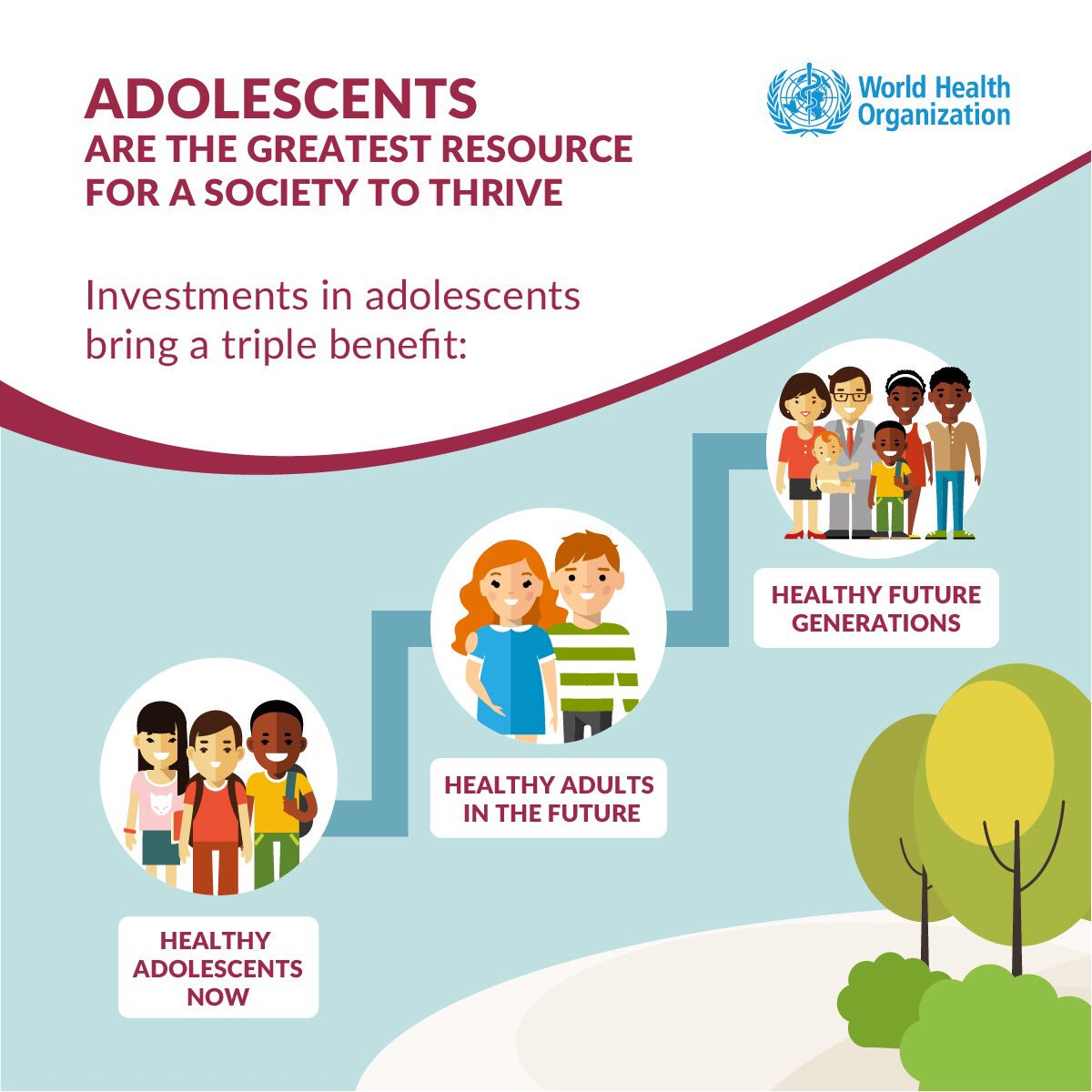 Today is #YouthDay! Investment in #adolescents&#39; health will drive a healthy, prosperous and sustainable society  http:// bit.ly/2vvy2Bt  &nbsp;  <br>http://pic.twitter.com/ZqZ9a8lc9f