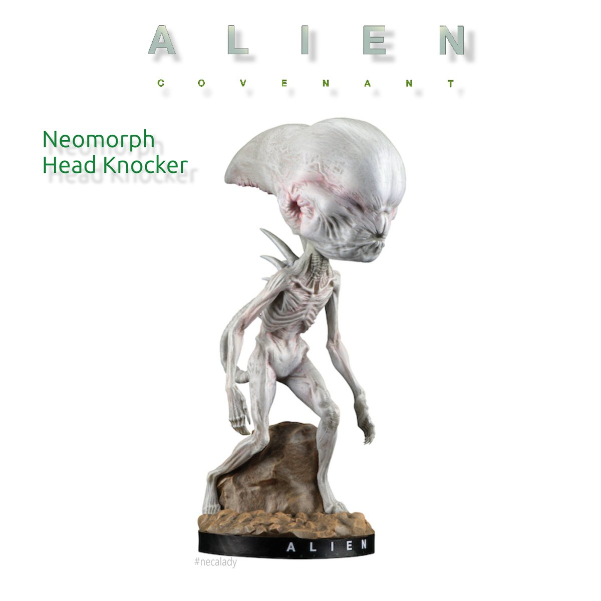 #NECA Arrival 8&quot; #AlienCovenant  #Neomorph cast in resin, hand-painted bobble head. Available at BOOTH 718 #necalady @frankandsonshow<br>http://pic.twitter.com/UKrgaaoi0C