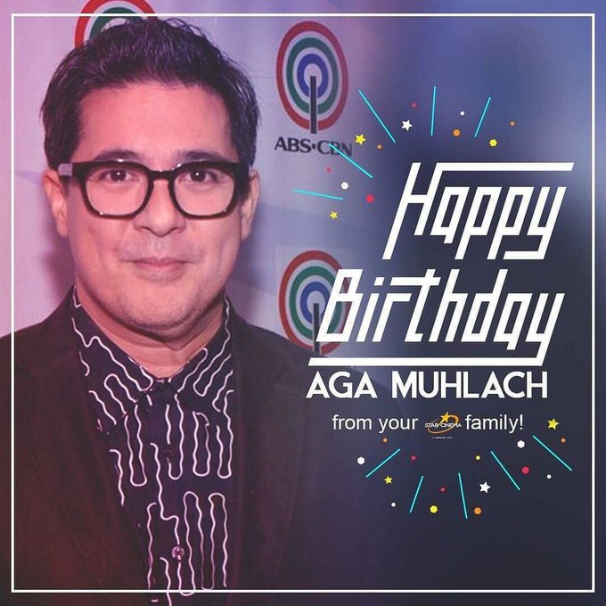 Happy birthday to our forever leading man Aga Muhlach! Have a wonderful day!