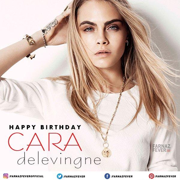 Wishing the star Cara Delevingne a very Happy Birthday.