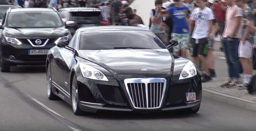Mercedes Benz Maybach Exelero >> Thesupercarblog On Twitter Maybach Exelero Spotted In