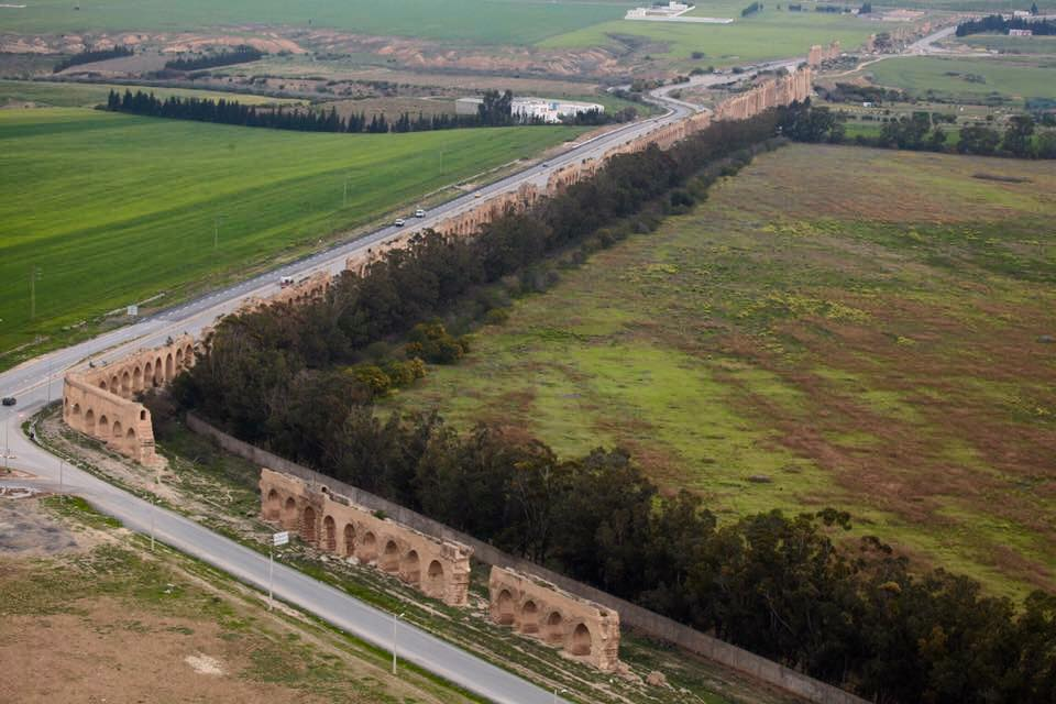 and here the water routing system of #roman times along 40 miles from Zaghouan Temple to Carthage Metropolis, NE #Tunisia. pc: Slim Medimegh<br>http://pic.twitter.com/dfzifPXS27