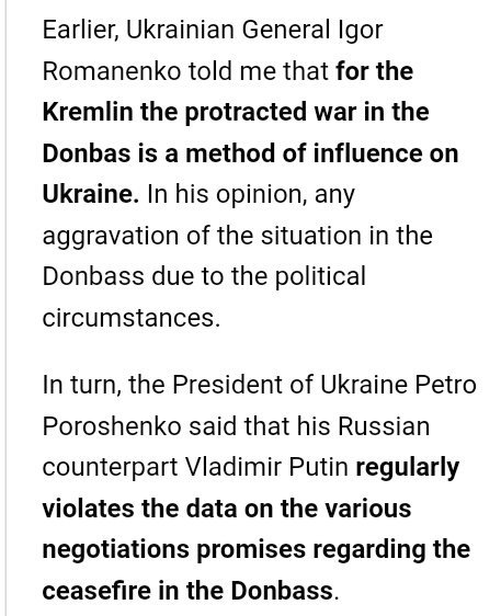 For the #Kremlin the protracted war in the #Donbas is a method of influence on #Ukraine  #RussiaGate #TheResistance #ImpeachTrump<br>http://pic.twitter.com/E4NzJEgsT4