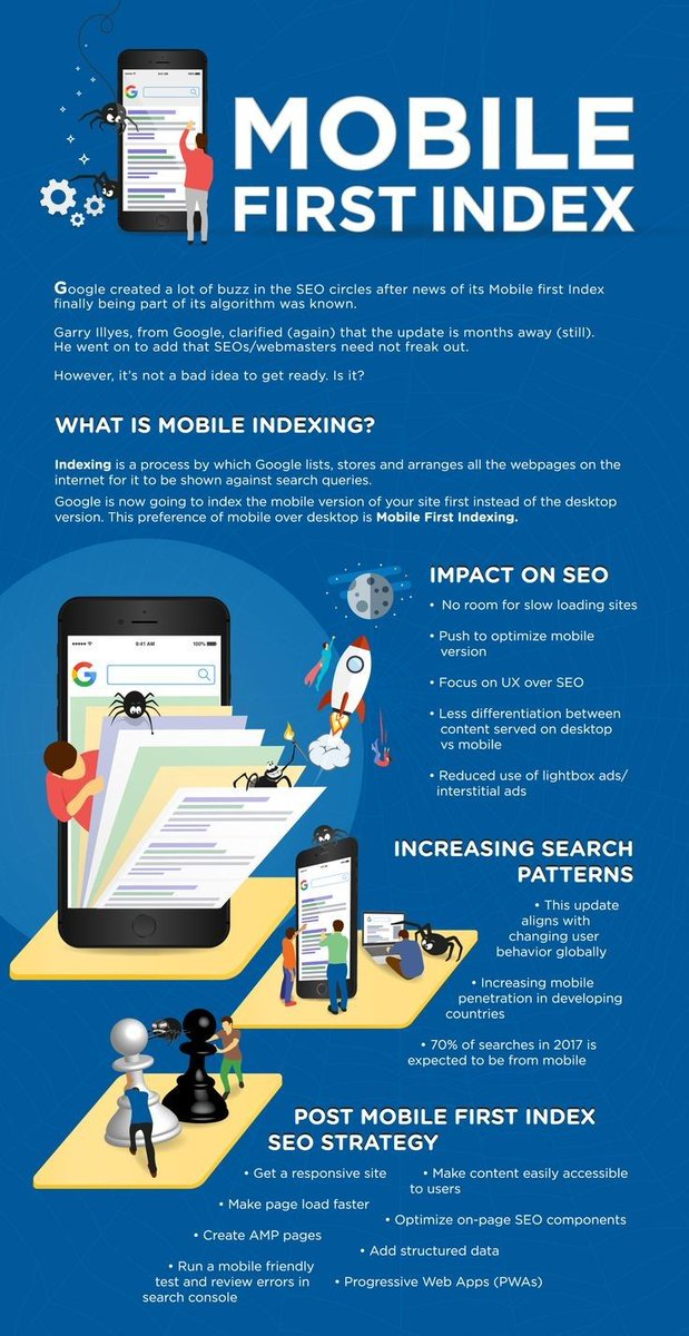 #Mobile #Indexing Impact on #SEO  https:// buff.ly/2wRqJDL  &nbsp;   #Marketing #Technology #SERP #ContentMarketing #SMM #SM #Branding #SocialMedia #SMO <br>http://pic.twitter.com/0ddVKRqZe7
