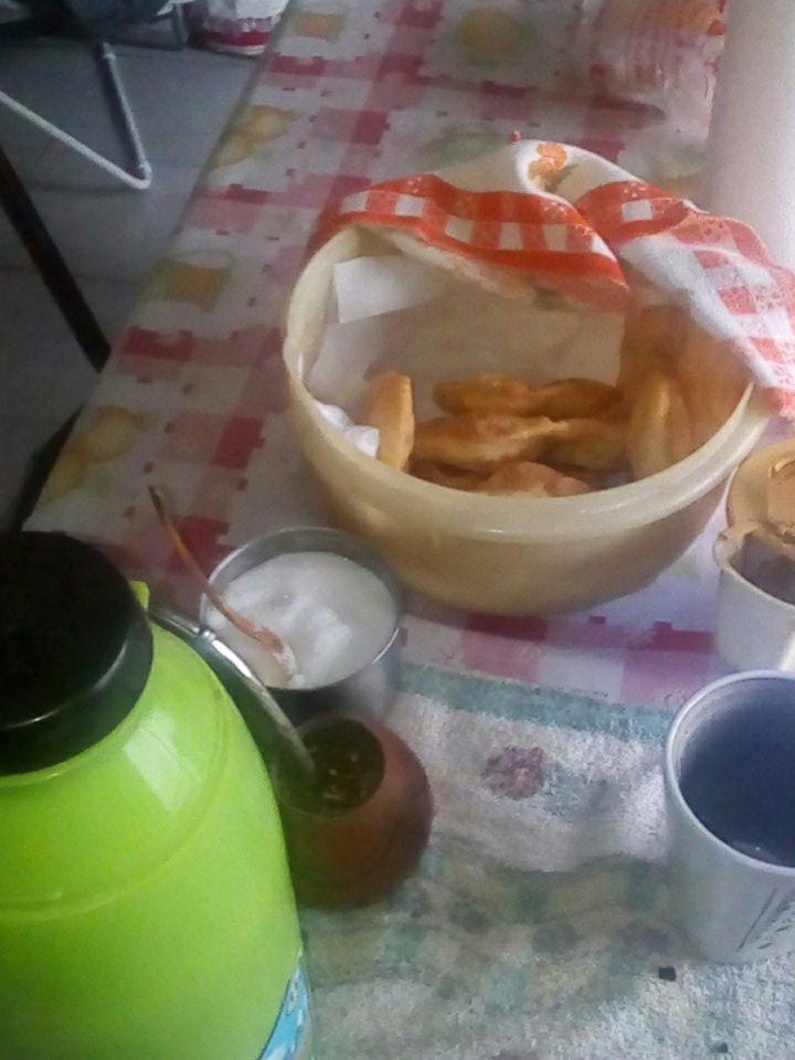 #EsteFinde desayunamos juntos y temprani...