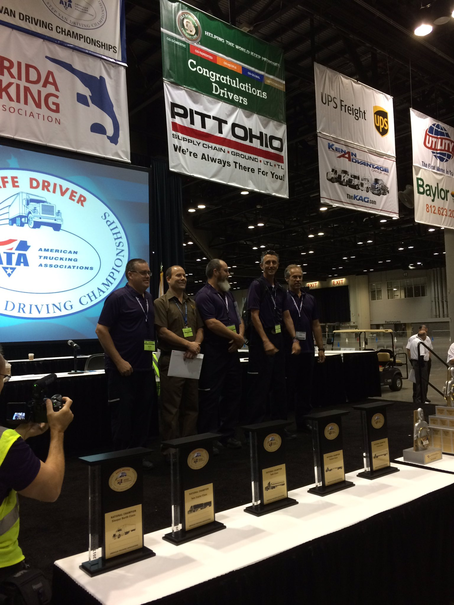 Straight truck finalists #NTDC2017 https://t.co/UCTPdS0ZgA