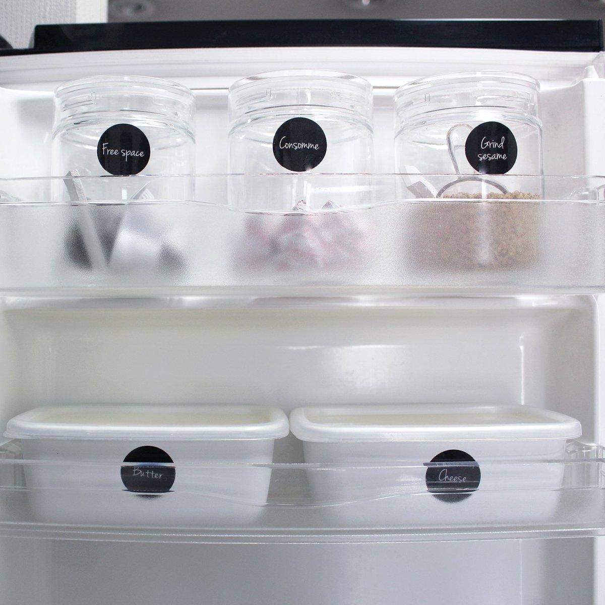 test ツイッターメディア - キャン★ドゥさんとのコラボ商品、発売中!  【冷蔵庫のドアポケットの収納】  キャン★ドゥコラボのラベルステッカー(キッチン) 我が家の活用例とスッキリ見せるアイデア  https://t.co/fMcW9yzhJP  #cando #キャンドゥ #収納 https://t.co/KBdOayfGZE