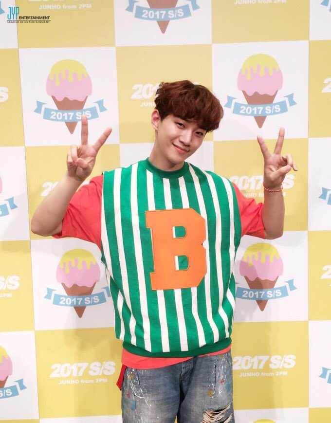JUNHO(From 2PM) 5th Mini Album「2017 S/S」の購入者イベント「S…