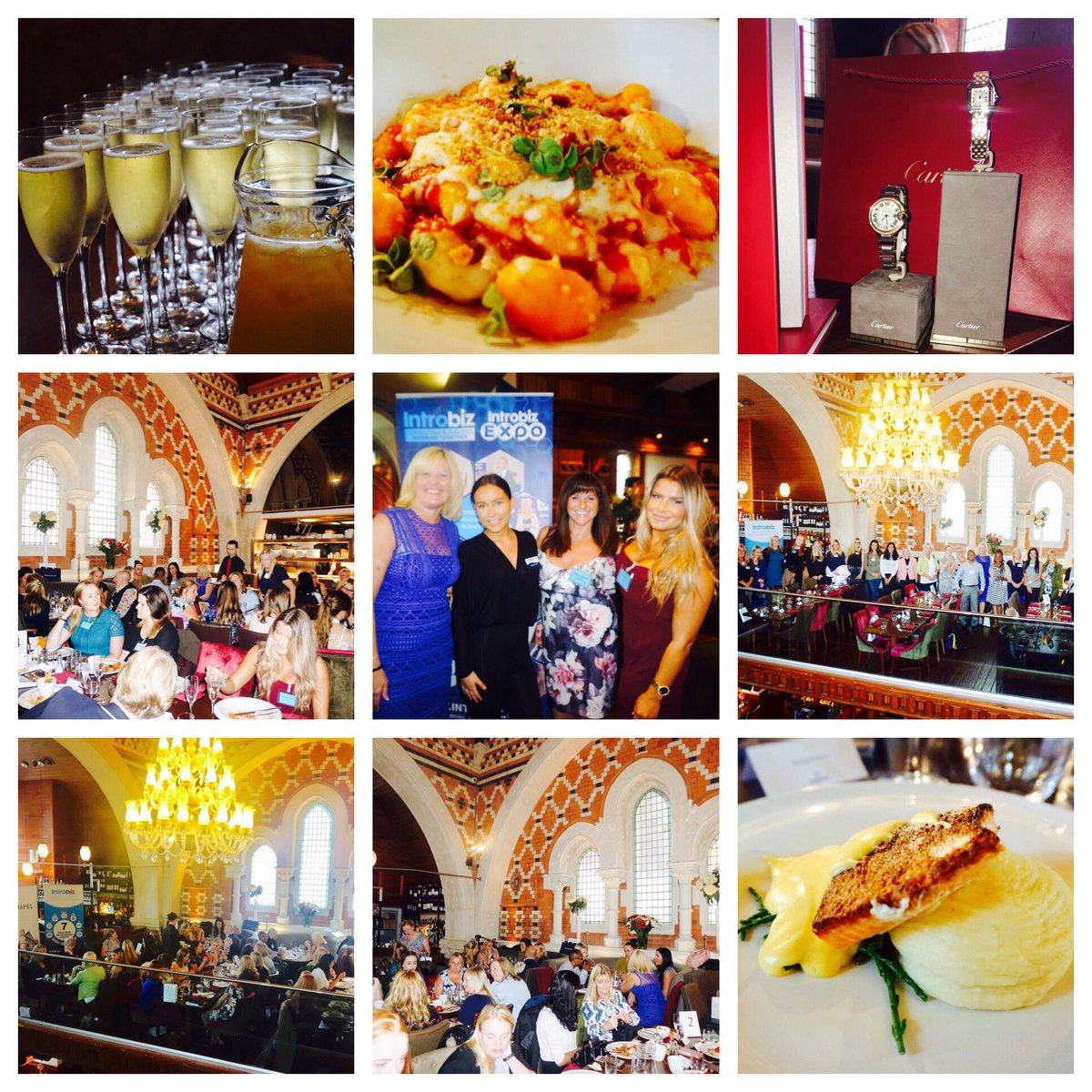 Special thank you to amazing team @chapel1877bar for beautiful food &amp; champagne yesterday&#39;s #Introbiz ladies #networking lunch event <br>http://pic.twitter.com/c942qrRK45
