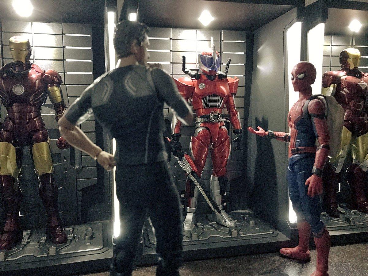「ねえスタークさん、このスーツはマークいくつなの?」 「ああ、それはだな……んん??」
