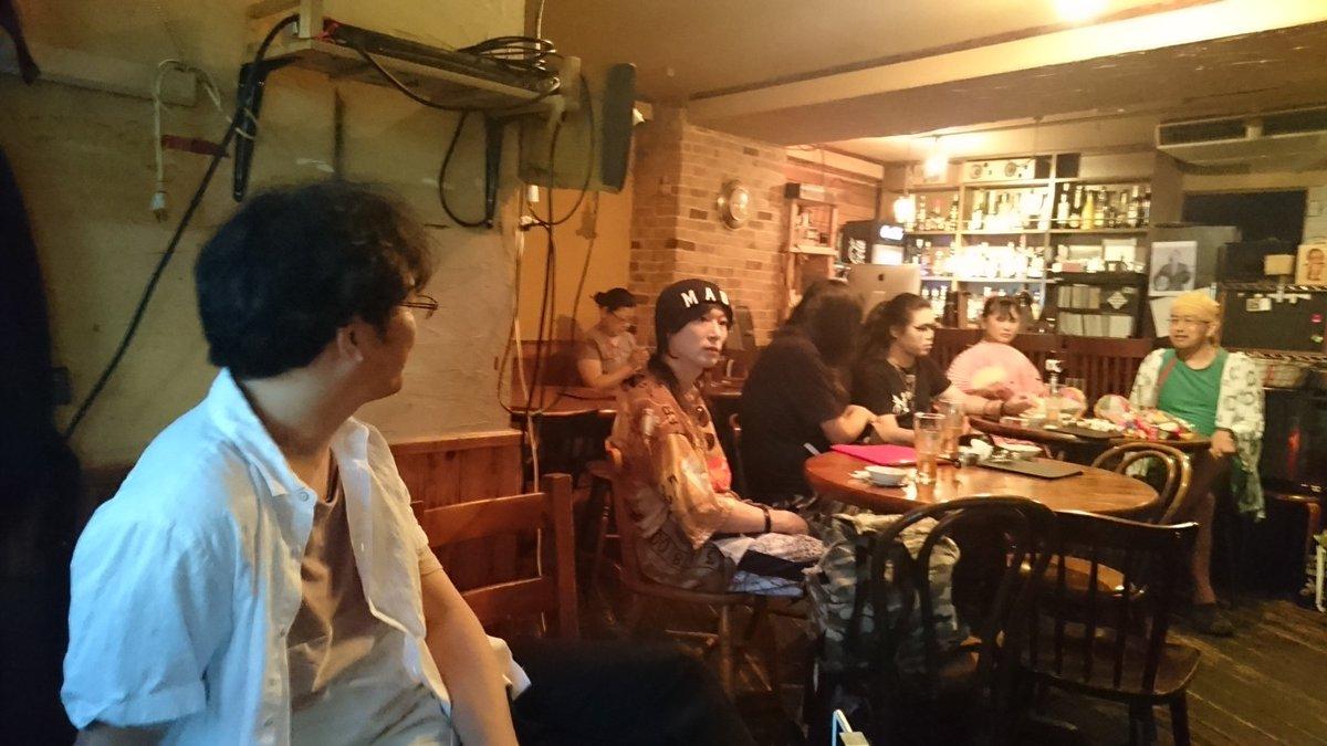 2017/08/12 Sat ややこしい人の会 at 市川アルマナックハウス
