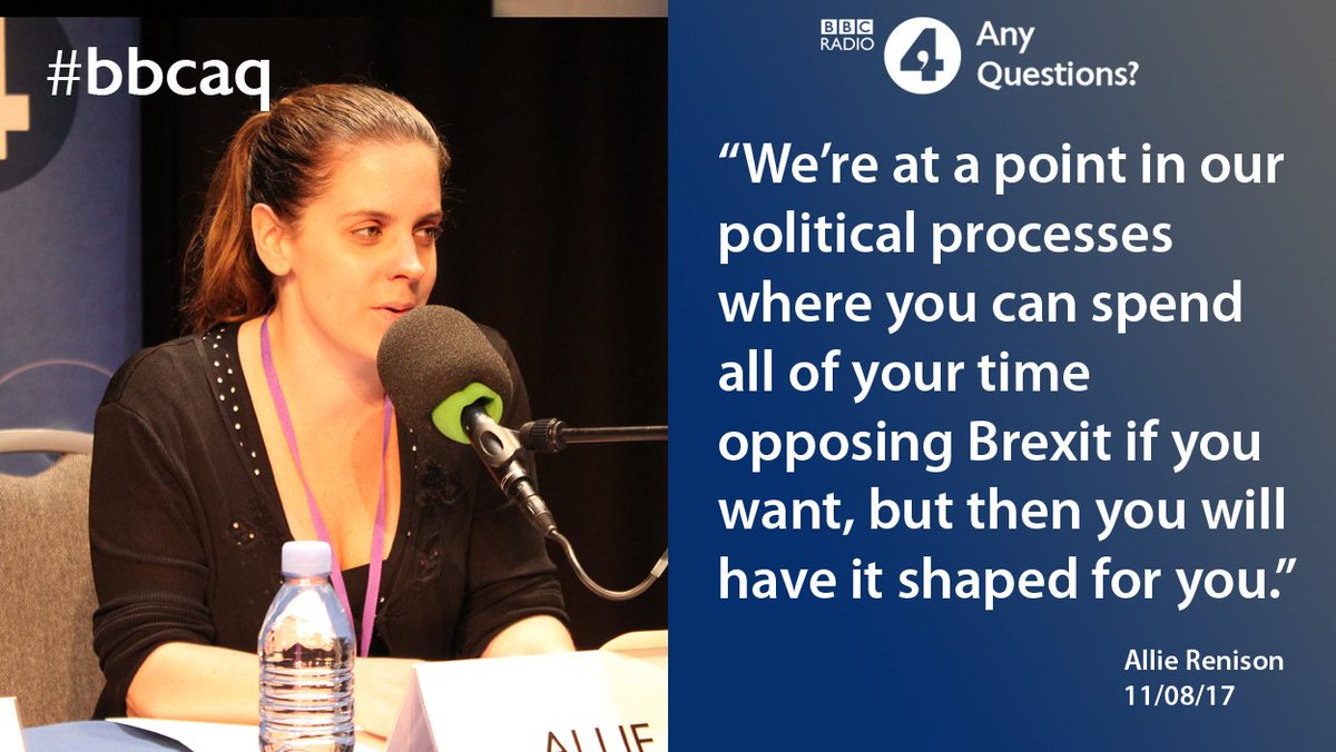Head of Europe and Trade Policy @The_IoD @AllieRenison on #Brexit #bbc...