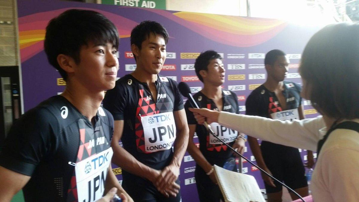 【#世界陸上 9日目】 #男子400mリレー 予選後コメント 続き 3走 #桐生祥秀 選手 「みんな…