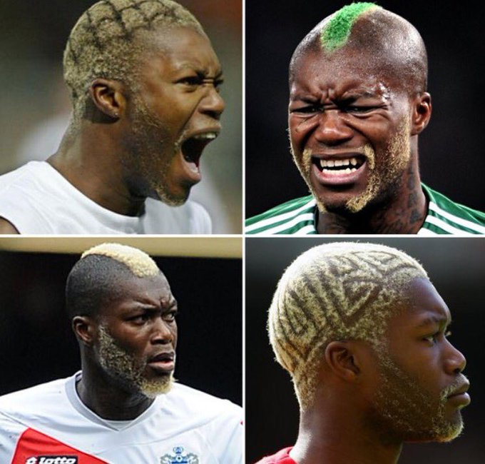 Happy 36th birthday to former Liverpool striker Djibril Cisse. A man of many hairstyles...
