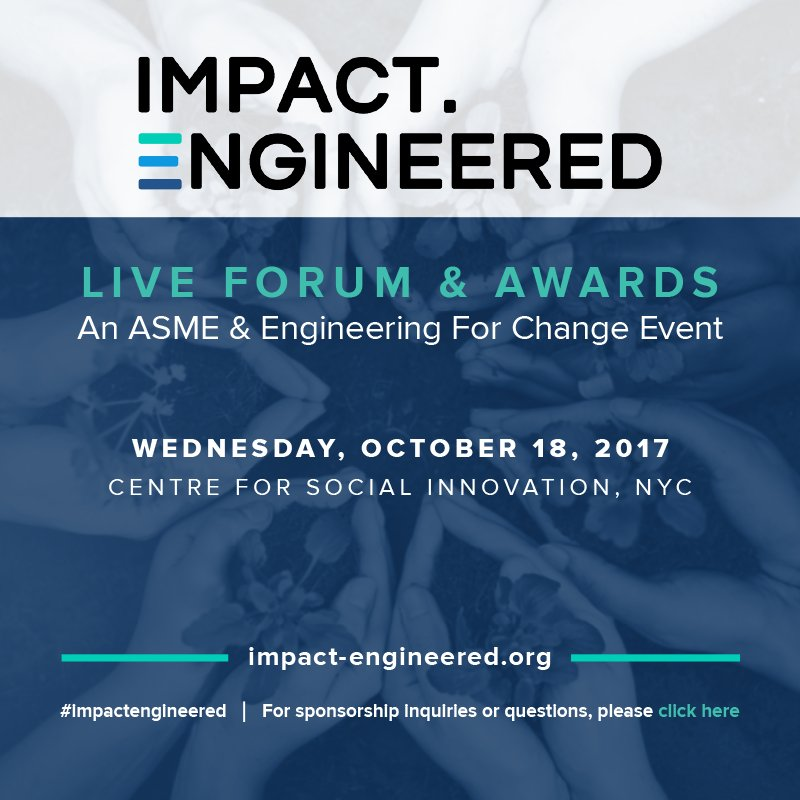 No time like the present to amplify the role of engineers in solving #globalissues  http:// ow.ly/GXO930e07Ix  &nbsp;   #impactengineered #tech4dev #SDGs<br>http://pic.twitter.com/3k1nXUA17B