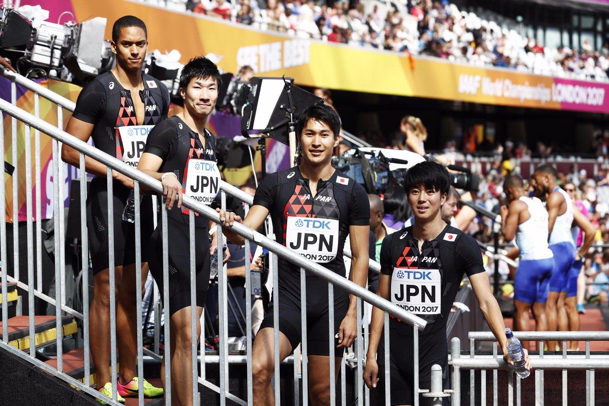 【#TBS #世界陸上 ロンドン🇬🇧9日目】 ◆男子4×100m決勝 あさ5:45ごろスタート 2レ…
