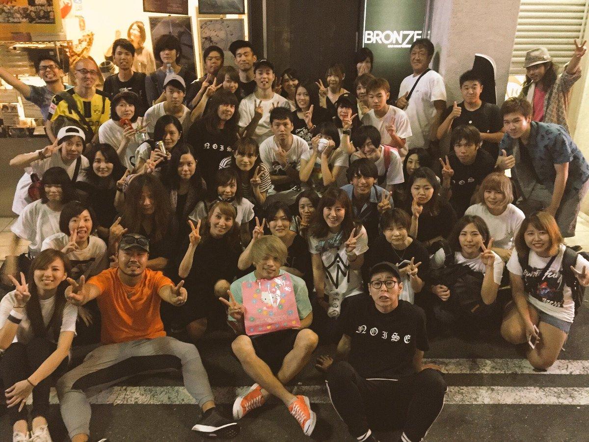 『NOISE MANIA ONE MAN TOUR 2017』 大阪 心斎橋 BRONZEありがとう…