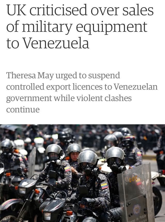 """""""Corbyn must do the right thing over Venezuela. Which is to sell them arms"""" - Tories https://t.co/78R5AmHHCw"""