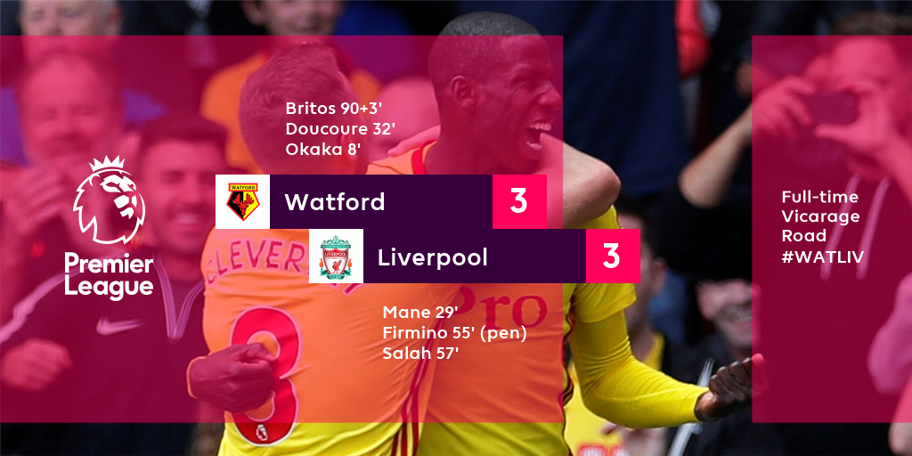The goals just keep on coming this season... #WATLIV #PLKickOff<br>http://pic.twitter.com/PvQYZEL5Am