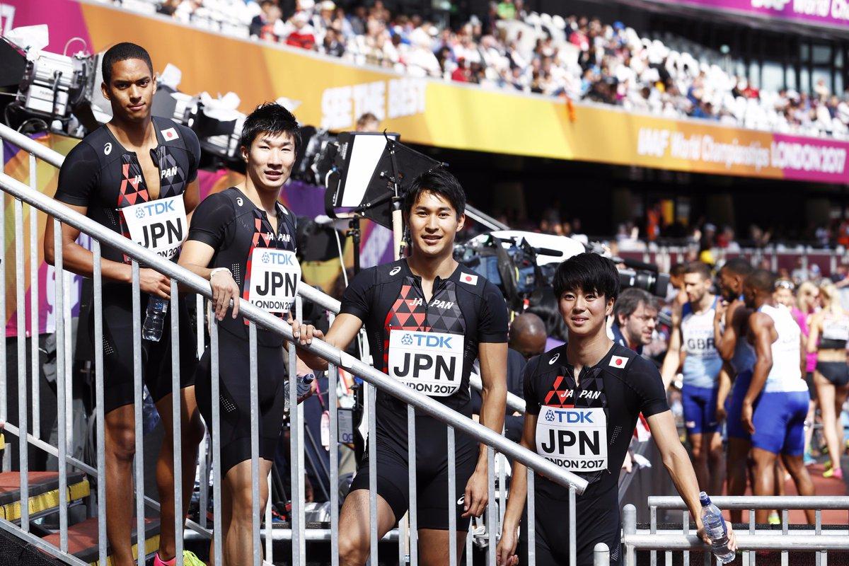 【#TBS #世界陸上 ロンドン🇬🇧9日目】 👉あさ5:45頃 男子4×100mリレー決勝 🇯🇵日本…