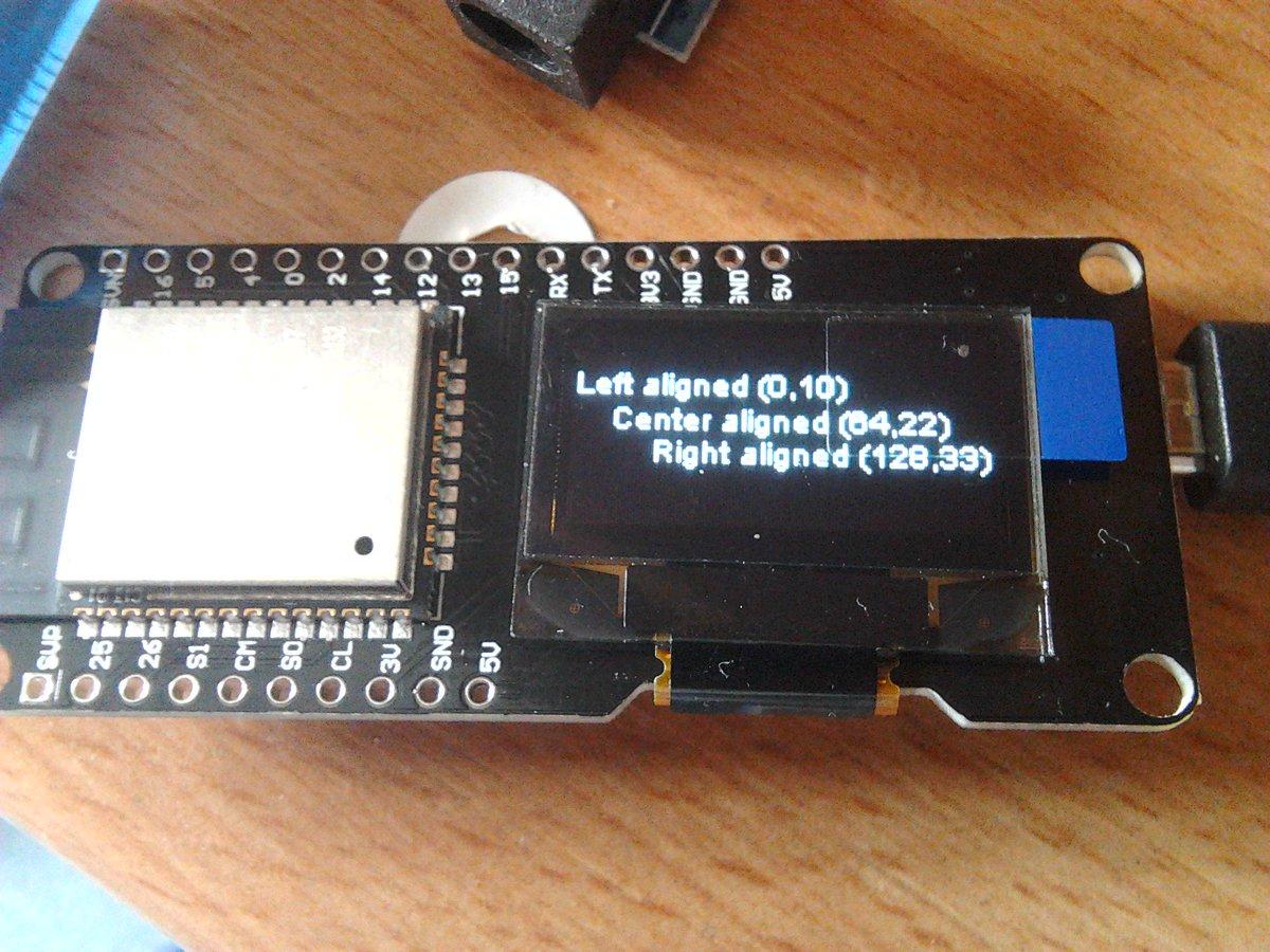 Wemos Lolin ESP32 OLED Module For Arduino ESP32 OLED
