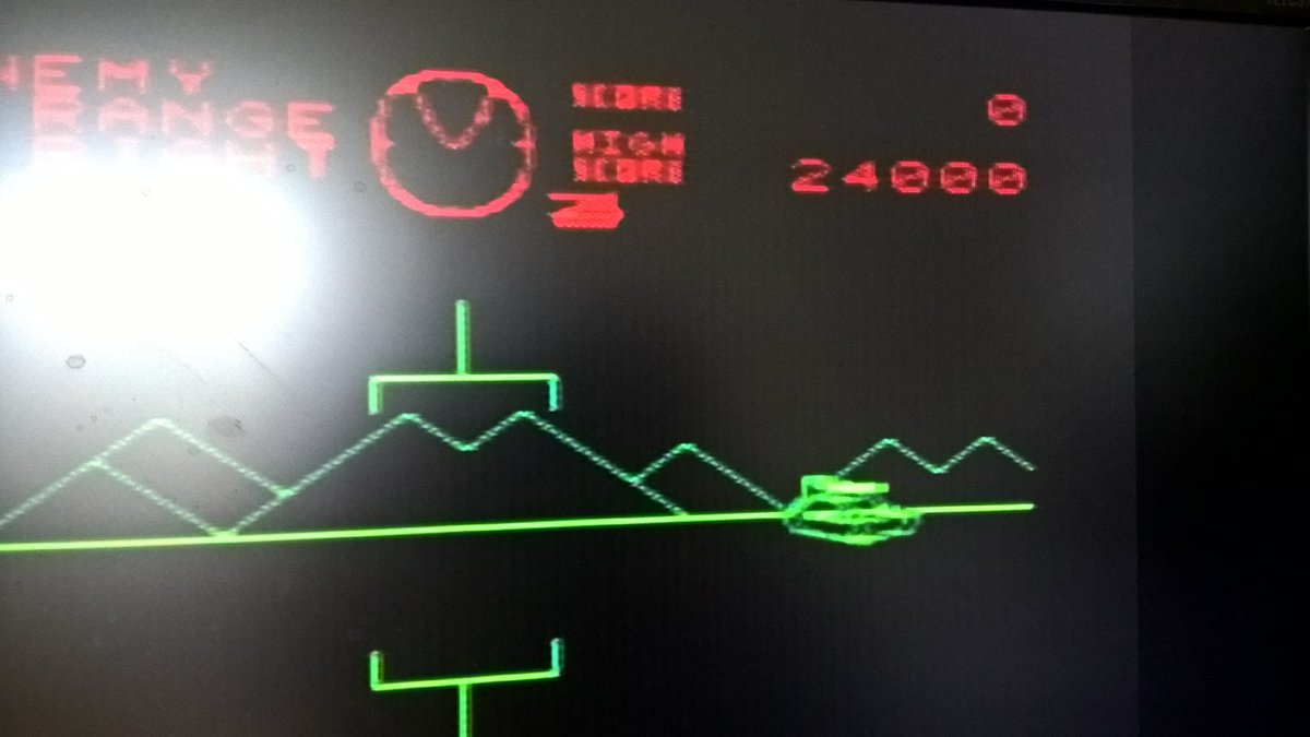That&#39;s a bit better with 24,000 #Battlezone #VIC20Weekend  @FozzTexx<br>http://pic.twitter.com/MfPyelkk0t