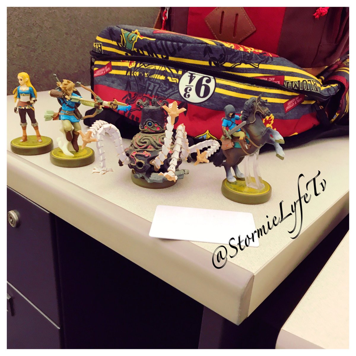 One of my menace through hooked me up. #amiibos #botw #loz #nintendoswitch<br>http://pic.twitter.com/jDd3C9t97A