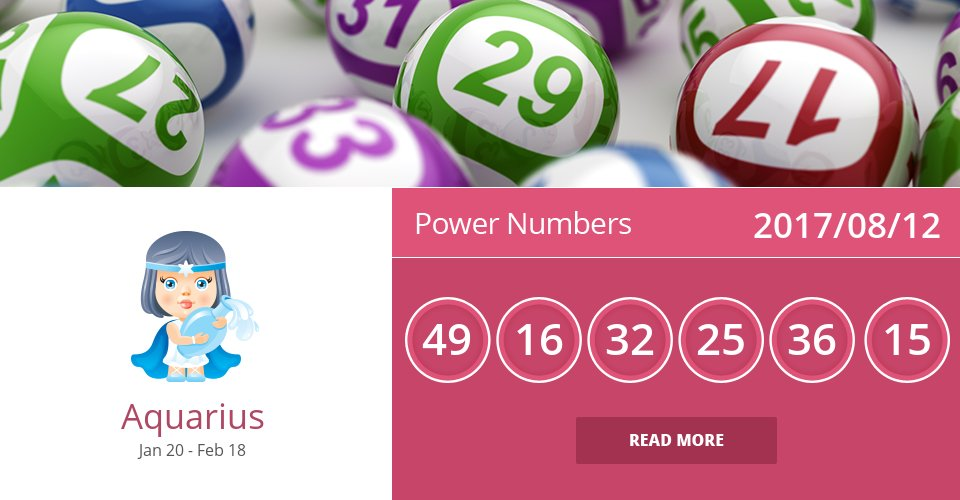 Aug 12, 2017: Power Numbers => See more: https://t.co/mFGmWTNzgG Accurate? Like = Yes #Aquarius #Horoscope https://t.co/voXvgEHTWS