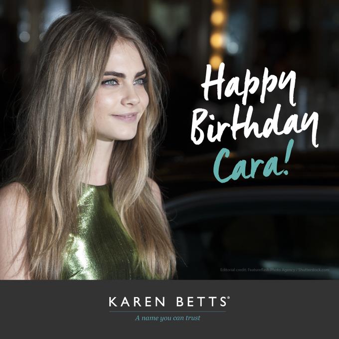 Happy Birthday Cara Delevingne! Bringing the eyebrow game everyday.