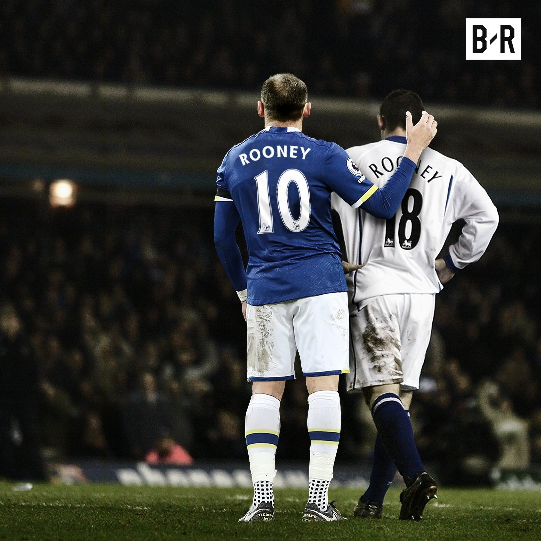 Wayne Rooney scores his first Premier League goal for Everton at Goodi...
