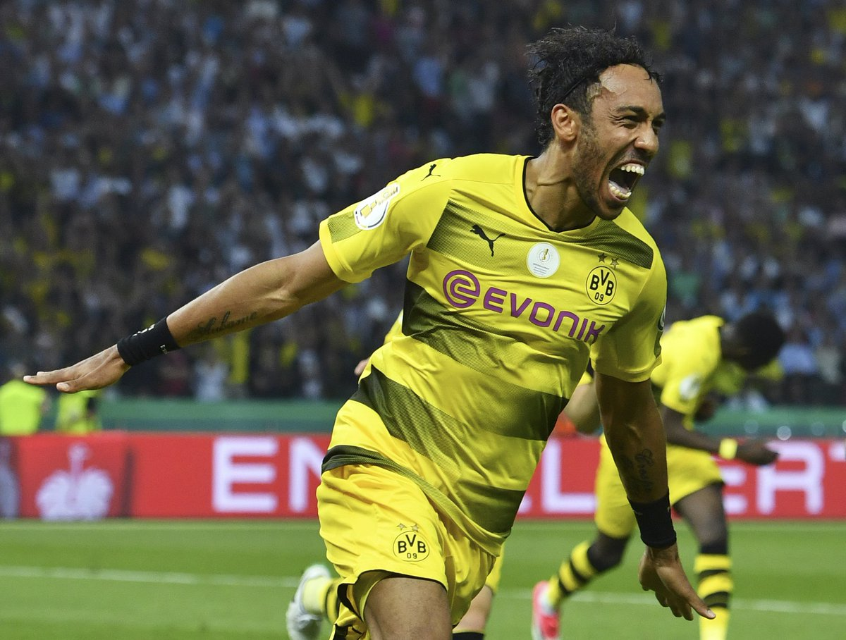 "Squawka Football on Twitter ""Pierre Emerick Aubameyang has now"