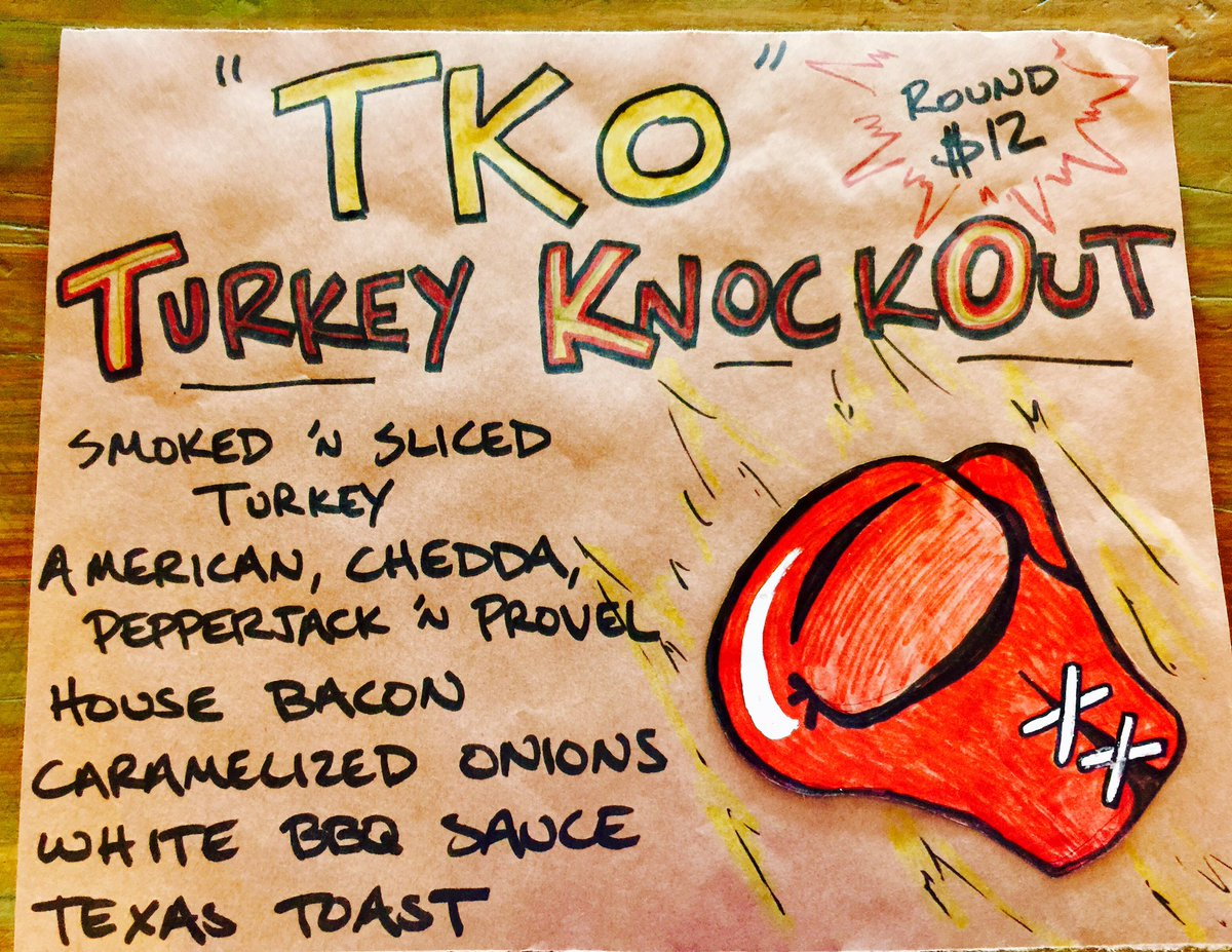 Get TKO&#39;d with the Turkey KnockOut!   #stl #summertime #que <br>http://pic.twitter.com/jeHnYO7Gs8