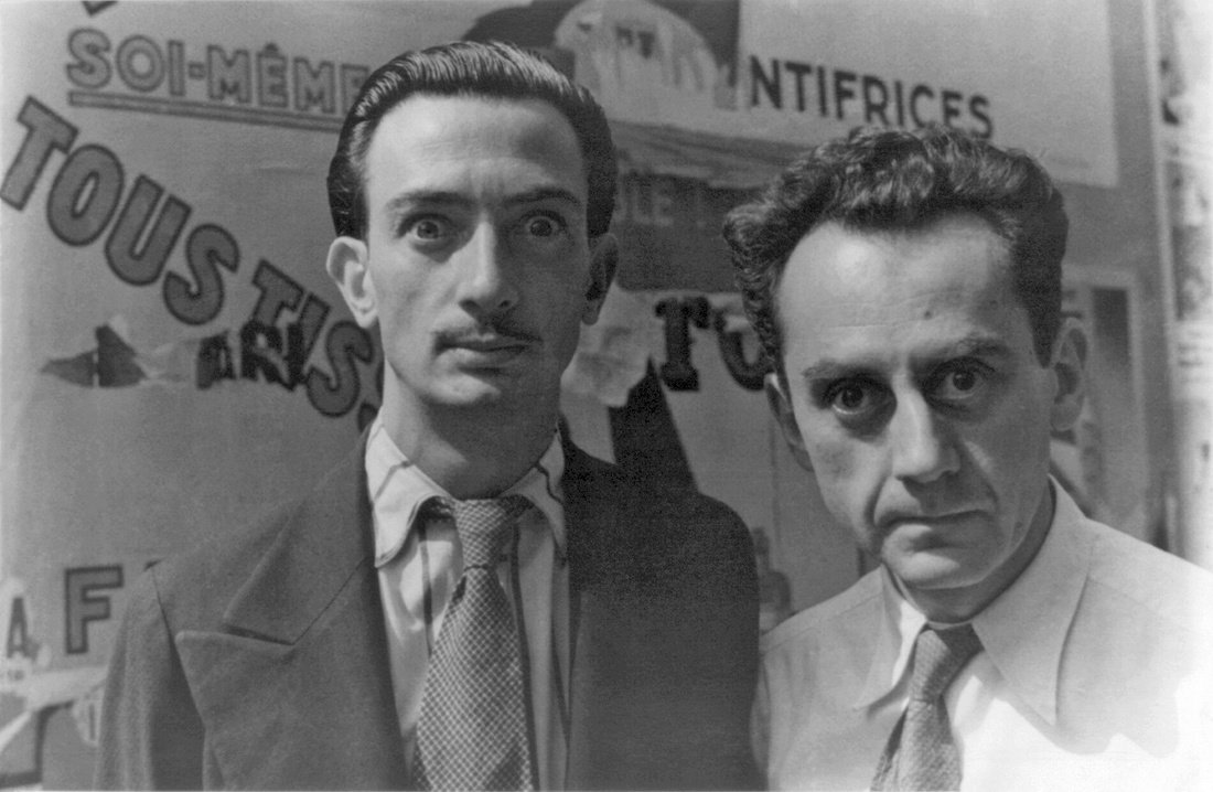 .@Artsy names #SalvadorDali and #ManRay one of &quot;The Greatest Bromances in Art History.&quot;  http:// ow.ly/vtsk30eg0Xc  &nbsp;  <br>http://pic.twitter.com/fSoEpJEkFT