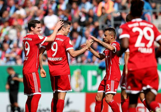 Video: Chemnitzer FC vs Bayern Munich
