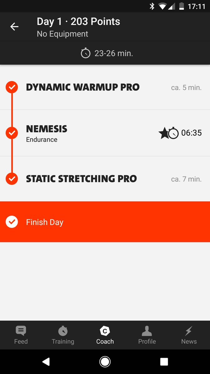 venus freeletics