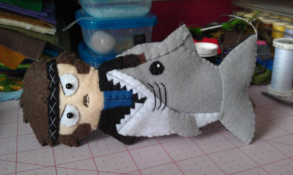 Now available at my etsy shop!  https://www. etsy.com/listing/535632 996/jaws-eating-quint-handmade-felt-ornament?ref=shop_home_active_1 &nbsp; …  #jaws #quint<br>http://pic.twitter.com/nsAS99hOEs