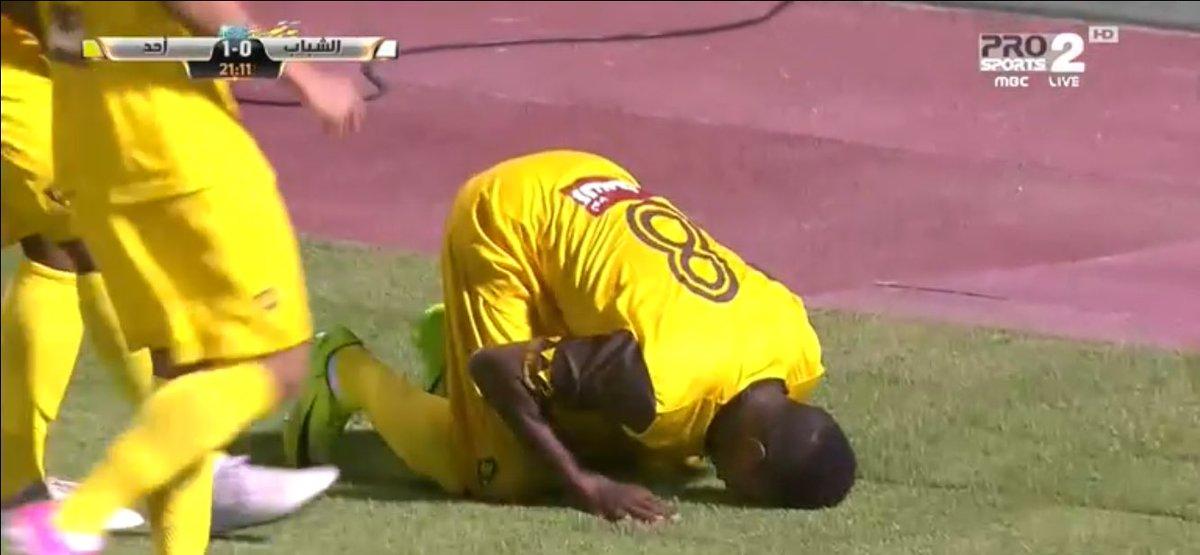 سجل السوداني محمد الضؤ أول هدف بتاريخ نادي أحد في دوري المحترفين . #ال...