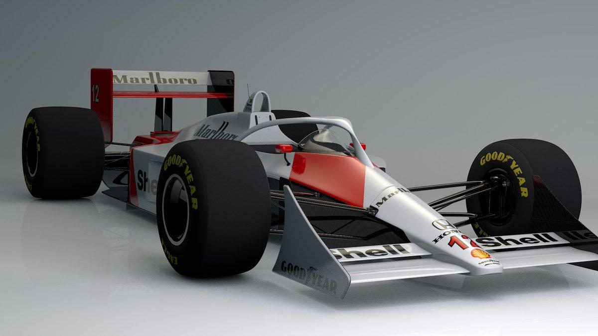 Retro F1 cars with halo