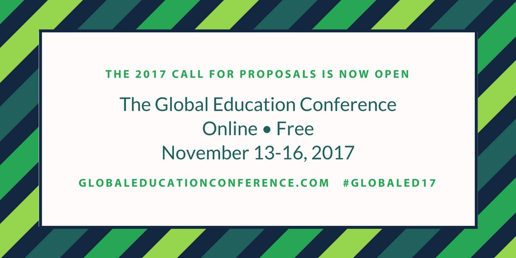 Join us for our free, online conference focused on globally connected teaching and learning! Details here:  http:// ow.ly/OZa330emiRA  &nbsp;   #ISTE17 <br>http://pic.twitter.com/TKLGp4UWff