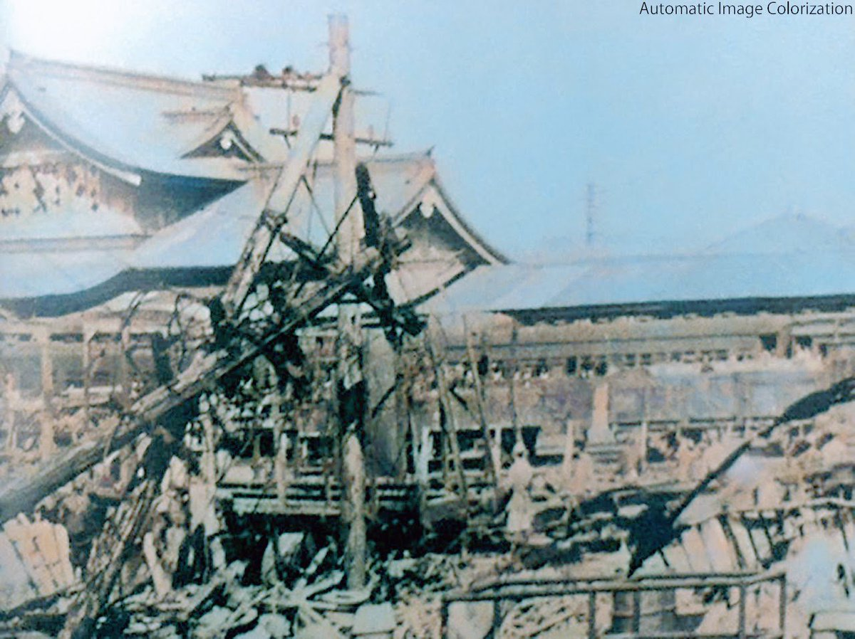 """渡邉英徳 sur Twitter : """"72年前の今日。1945年8月13日,長野空襲 ..."""