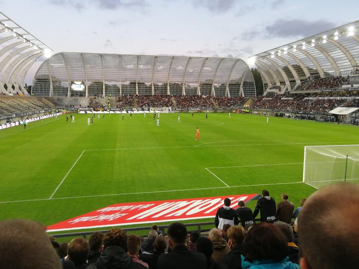 Sympa le match à la #licorne ! #ASCSCO ! pic.twitter.com/uOiJWxi2E1