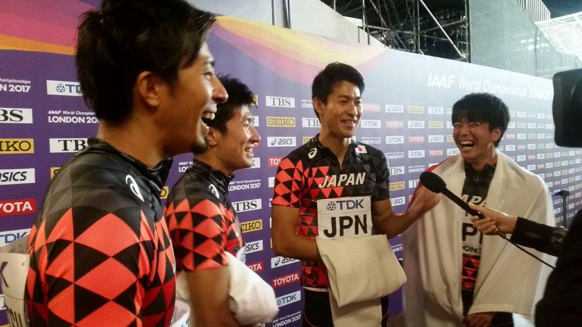 【#世界陸上 9日目】 #男子400mリレー 決勝後コメント #多田修平 選手 「スタートが決まって…