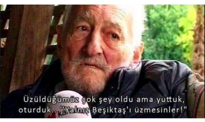 Beşiktaş'ı üzmelerine asla izin vermeyeceğiz baba #SüleymanSeba