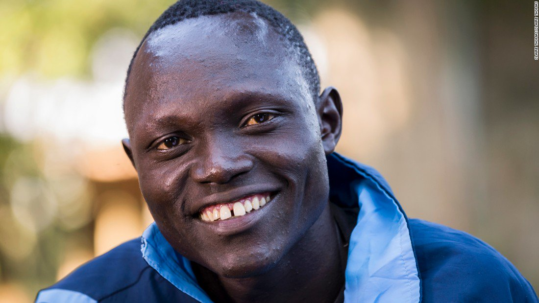 'I went to the Vatican and met the Pope... he treated me like a big boss!'  Meet the Olympic Refugee Team a year on: https://t.co/TSnAH3NDXR