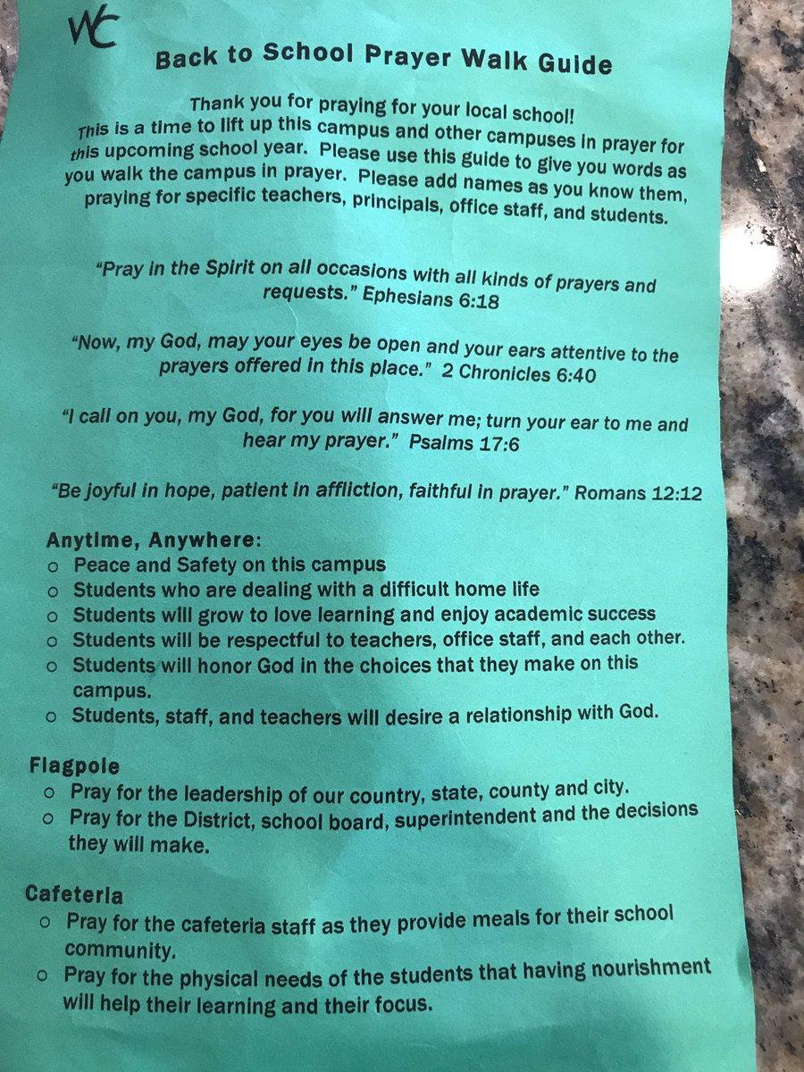 An (unofficial) prayer walking guide | movementeer.