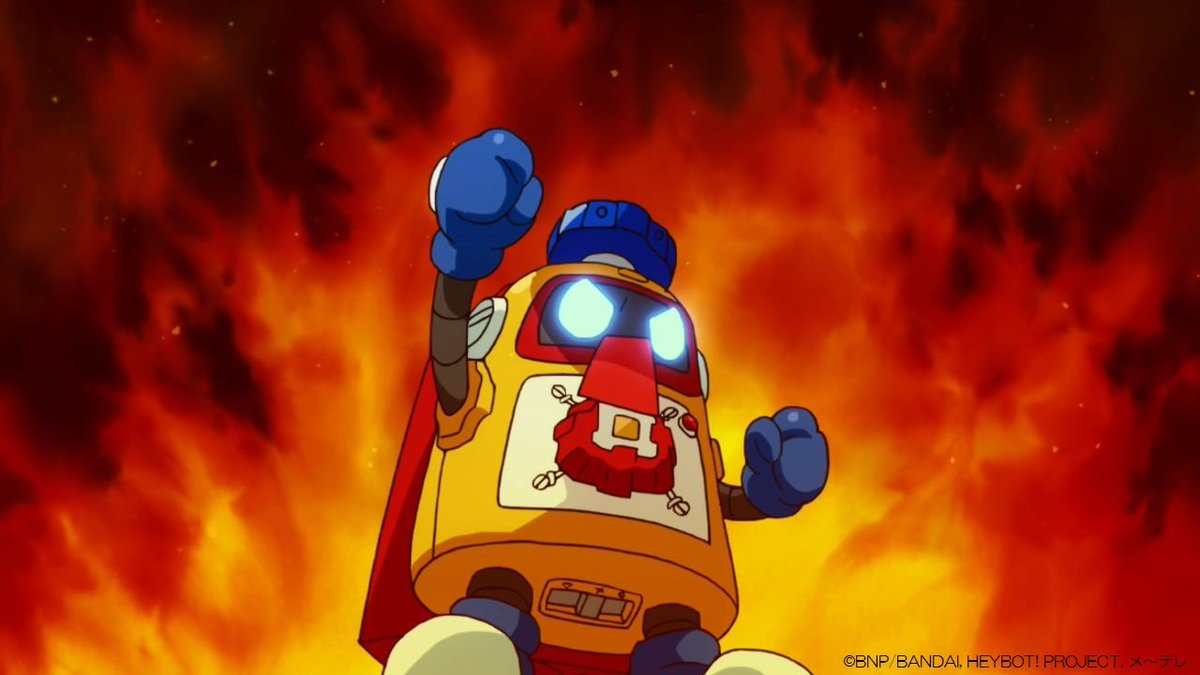 #ヘボット!傑作選❗ #メ~テレ 土曜深夜📺⚡ 今回は #井澤詩織 さん選出📍 ●第11話「奇怪・呪…