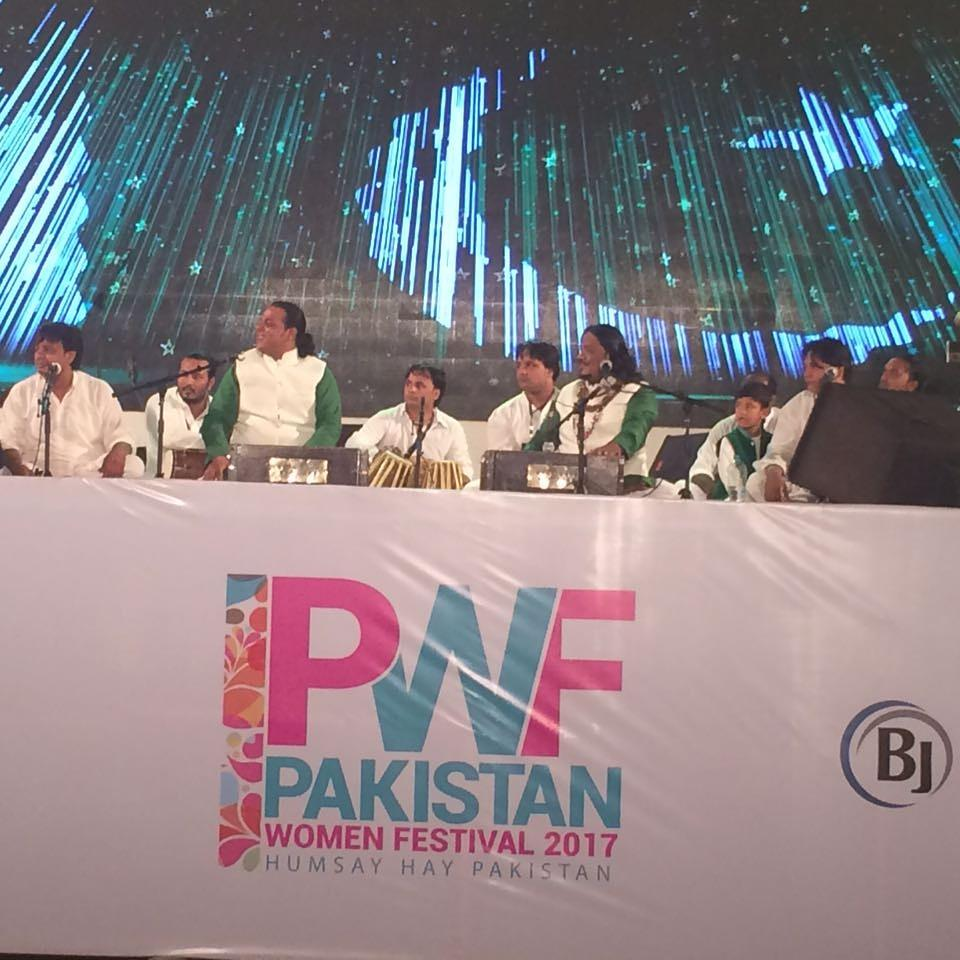 Sabri brothers live in concert. #happening now at the Pakistan women festival. Join us! At the Global Marquee.  @pwf_17  #pwf_17<br>http://pic.twitter.com/6YN7uMUgVY