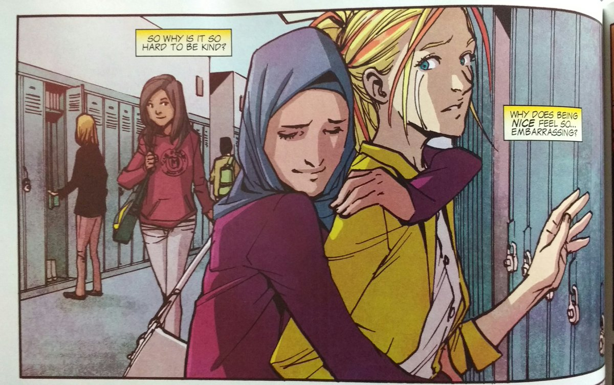 I read the newest Ms Marvel trade recently & this part destroyed me. https://t.co/w0PRvcWZoH