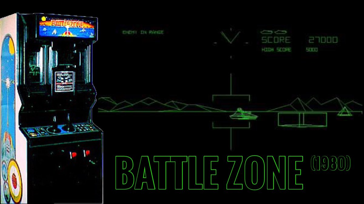Battlezone is a first-person tank combat arcade game from Atari, Inc. released in November 1980.  #battlezone #arcade #atari #retrogaming<br>http://pic.twitter.com/hAyCH9eZxQ